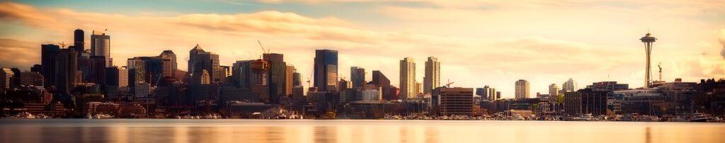 """Seattle: In der """"Emerald City"""" befindet sich die Konzernzentrale Amazons (c) Pixabay"""
