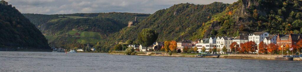 Der Mittelrhein bei Sankt Goar (c) Pixabay