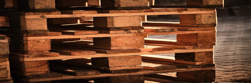Trans-O-Flex mustert Holzpalette aus © Pixabay